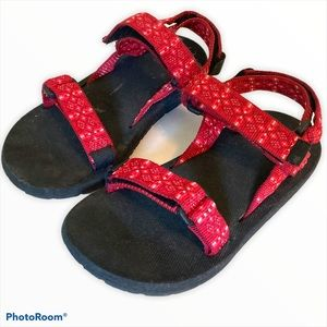 Source Israel classic outdoor sandal 32 red